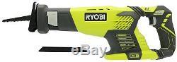 Ryobi ONE+ 18 Volt Lithium Ion Cordless Super Combo Kit 5 Tools Power Tool Set