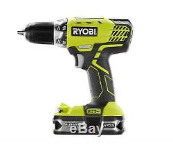 Ryobi ONE+ 18-Volt Lithium-Ion Drill Cordless Ultimate Combo Kit (6-Tool)