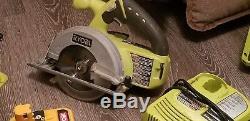 Ryobi cordless power tools lot