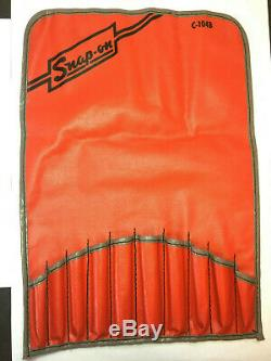 SNAP-ON TOOLS PUNCH SET (DRIFT and STARTER) WITH STORAGE POUCH 11Pc