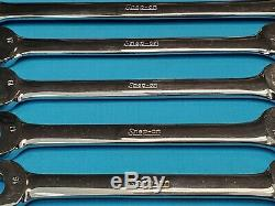 SNAP ON VOM METRIC OPEN END WRENCH LOT 6 pcs 12mm thru 30mm FREE SHIPPING