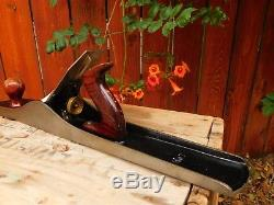 STANLEY Bailey 22 No 7 Wood Plane Grooved Bottom Made in the USA