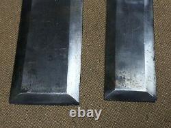 Set of 2 James Swan C0 Socket Framing Slick Chisels 1-1/2 & 2 Woodworking US