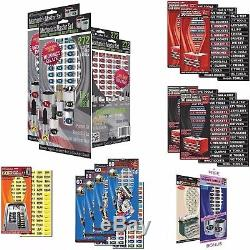 Shop Owners Lot Blue Organize Home, Shop, Office Tag Tools Sockets + Much More