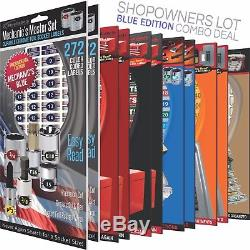 Shop Owners Lot Blue Toolbox Socket Breaker Labels + More Organize your Tools