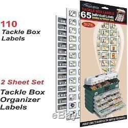 ShopOwners Organizer Lot Green ID Labels for Socket Tool Box Breakers +More