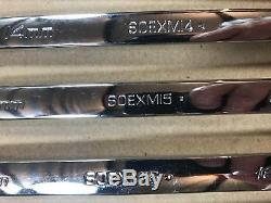 Snap-on 10 Piece SOEXM710 Flank Drive Plus 10mm 19mm Metric 12-Point NEW
