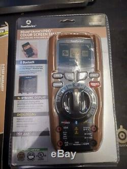 Southwire Tools Bundle Multimeter 15190T MaintenancePRO with 21550T Clamp Meter