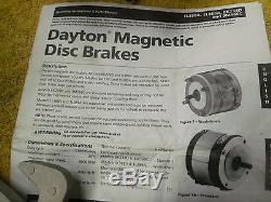 Stearns Brake Assembly # 105671107 PF 115/208-230 universal mount 7/8 shaft NEW