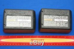 TWO BRAND NEW OEM Snap-On Tools 18 V 4.0 Ah MonsterLithium Batteries CTB8185BK