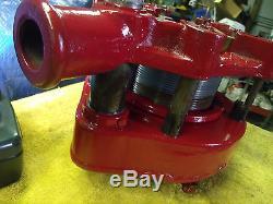 Toledo No. 2 Geared Threader 2-1/2 3 3-1/2 4 Pipe Threading Machine Plus extras