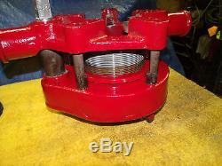 Toledo No. 2 Geared Threader 2-1/2 3 3-1/2 4 Pipe Threading Machine lk/ ridgid