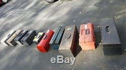 Tool Boxes 3 different sizes and prices 5-15-30 price is for 10