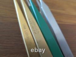 Tweezers Dumont, Bergeon 4pce brass, steel