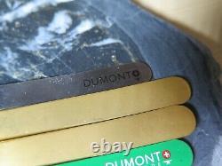 Tweezers Dumont, Bergeon 4pce brass, steel, titan 1AM, 3, 4, SSI40