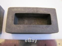 USED Graphite Optic Glass Mixed Shapes & Sizes Wholesale Lot of 5 Molds
