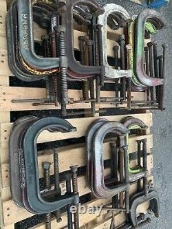 Used 35 Forged C Clamps