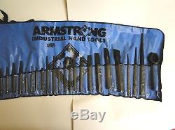 Used Armstrong Hand Tools 27 Pc. Punch Set Auto Diesel Big Rig Semi Truck