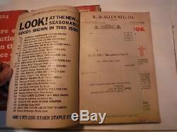 VINTAGE W. D. ALLEN Hardware & Tool Catalogs (47 49 51 53) 1923-1924 Lot of 4