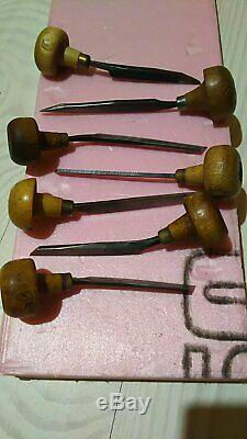 Vintage Lot of 52 EC Muller Gravers Engraving Tool