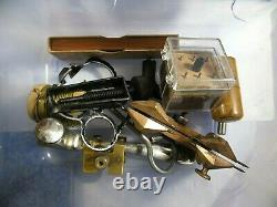 Vintage MID Century Watch Repair Tools & Over 100 Timex Watches Parts Or Repair