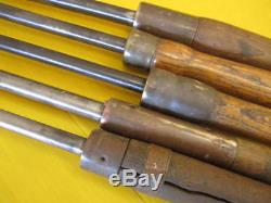 Vintage Metal Spinning Tools 26-29 Set of 5