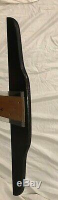 Vtg. 36 Beveled Steel Straight Edge & T-Square Drafting Drawing Machinists Tool