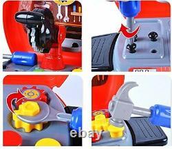 WHOLESALE JOBLOT Toy Tool Bench Work Shop Tools Kit Boys Kids Workbench X 18