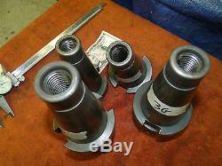 Weldon No. 50 NMTB50 Taper Quick Change master tool holder Milling Mill Reamer