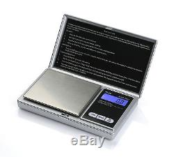 Wholesale Case 20 AWS-1KG Pocket Scales Silver 1000g x 0.1g American Weigh