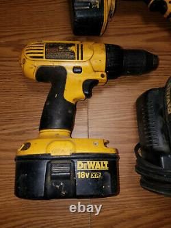 Wholesale Lot Of Dewalt Tools Saw Cordless Drill Impact Driver Charger Batte