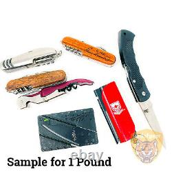 Wholesale Lot of Pocket Knife Multi-Tool Corkscrew Survival Tool $17 per Pound