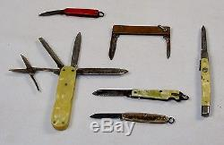 Wholesale Mix Lot of 24 Vintage Pocket Knives/Multi-tools Collector's Special