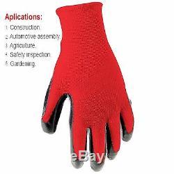 Wholesale Nitrile Nylon Safety Gardening Mechanic Work gloves Lot 330 Pairs Bulk