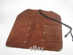 Woodcarving Tools Chip Detail Roughing Knives Scorp Drawknife Leather Tool Roll