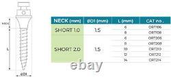 X7 Dental Orthodontic TADs Micro Implant Screws + Driver Handle Holder Tool Set