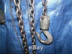 Yale Midget King Electric chain hoist 1000 lb. 1/2 ton 230 3 ph. 10 feet lift