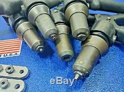You Get Everything In The Picture 5 Fsi Hydraulic D-100 Riveters Hand Tool Lot